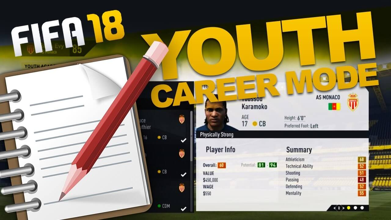 fifa 18 ps4 ultimate mode career and settings 2. Black Bedroom Furniture Sets. Home Design Ideas